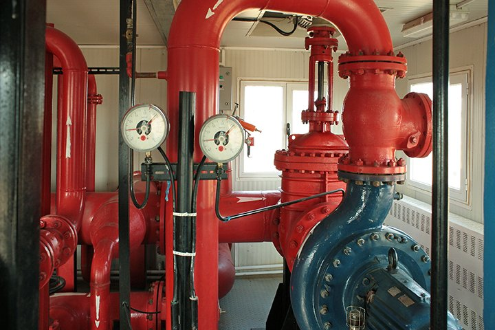 Vacuum Priming for Emergency Fire Pumps