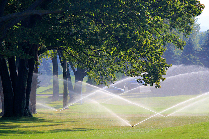 Vacuum Priming for Golf Courses