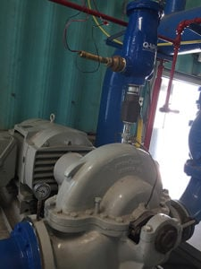 Centrifugal pump priming