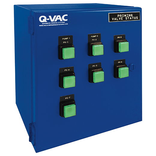 Vacuum Priming Control Panel