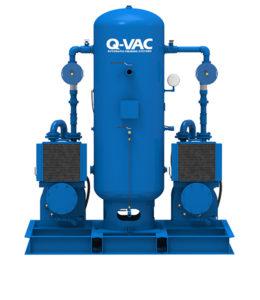 Duplex Oil Sealed Liquid Ring Vacuum Priming Systems Front