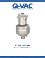 High Capacity Priming Valves