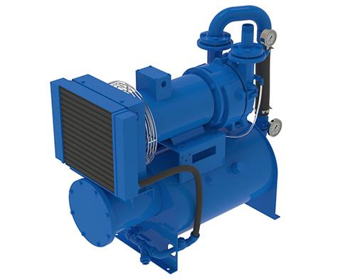 Closed Loop Oil Sealed Vacuum Pump